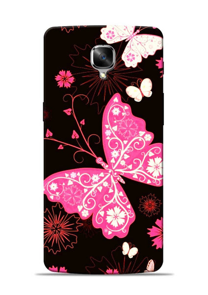 The Butterfly OnePlus 3 Mobile Back Cover