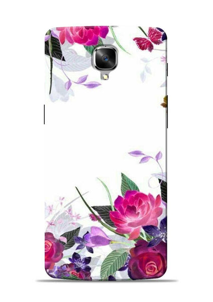 The Great White Flower OnePlus 3 Mobile Back Cover