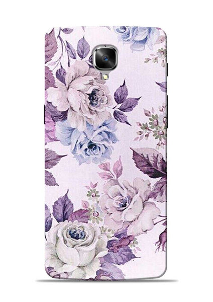 Flowers Forever OnePlus 3 Mobile Back Cover