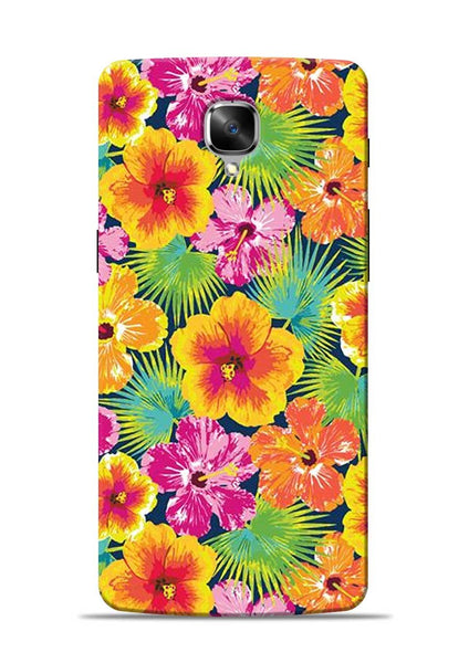 Garden Of Flowers OnePlus 3 Mobile Back Cover
