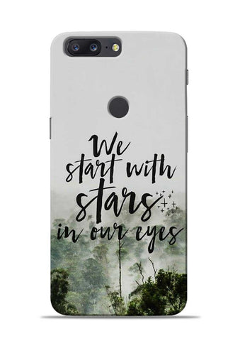 Stars In Eye OnePlus 5T Mobile Back Cover