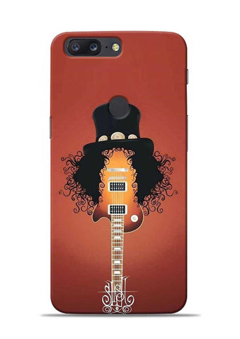 Love Guitar OnePlus 5T Mobile Back Cover