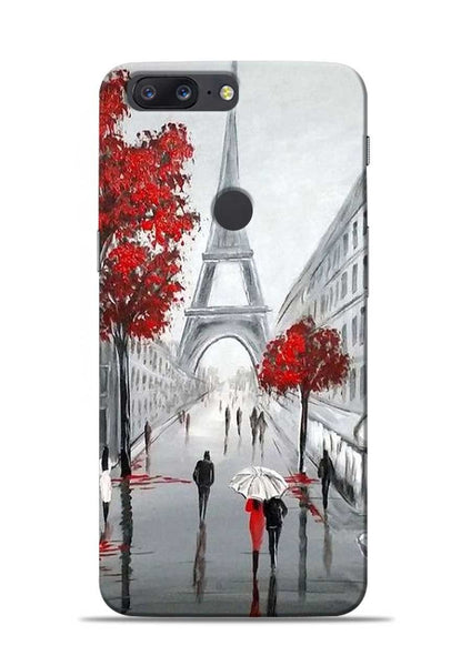 Eiffel Tower OnePlus 5T Mobile Back Cover