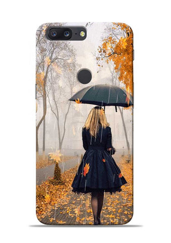 Walk In A Rain OnePlus 5T Mobile Back Cover