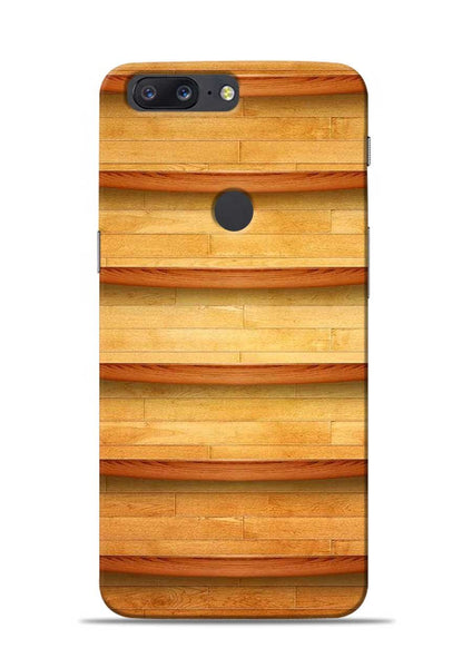 Wooden Texture OnePlus 5T Mobile Back Cover