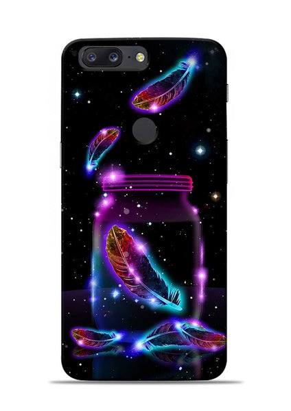 Glowing Bird Fur OnePlus 5T Mobile Back Cover