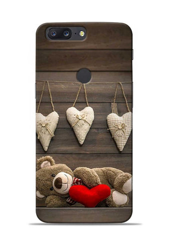Teddy Love OnePlus 5T Mobile Back Cover
