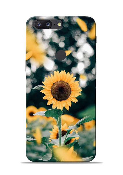 Sun Flower OnePlus 5T Mobile Back Cover