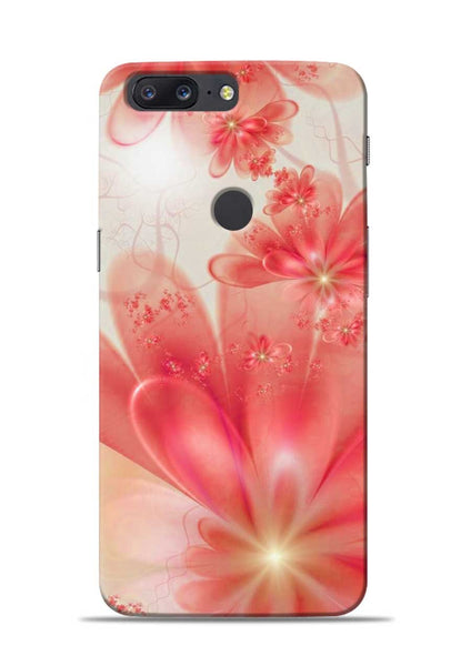 Glowing Flower OnePlus 5T Mobile Back Cover