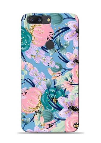 Lovely Flower OnePlus 5T Mobile Back Cover