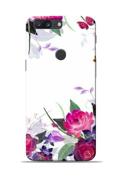 The Great White Flower OnePlus 5T Mobile Back Cover