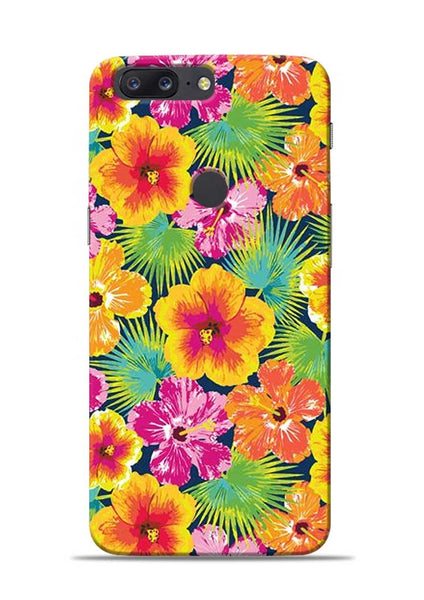 Garden Of Flowers OnePlus 5T Mobile Back Cover