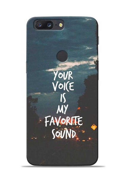 Your Voice OnePlus 5T Mobile Back Cover