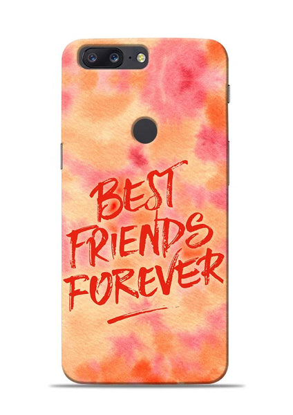 Best Friends Forever OnePlus 5T Mobile Back Cover
