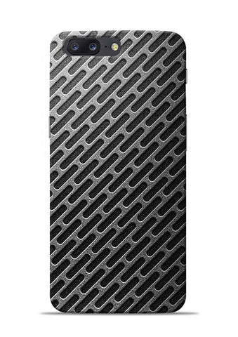 Grey Stride OnePlus 5 Mobile Back Cover