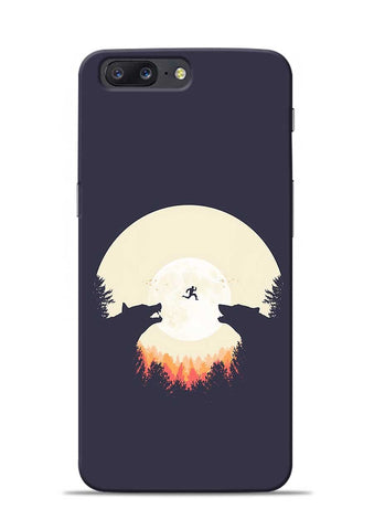Wolf Bear OnePlus 5 Mobile Back Cover