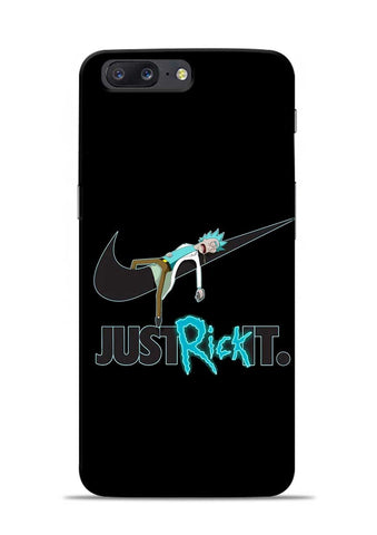 Just Rick It OnePlus 5 Mobile Back Cover
