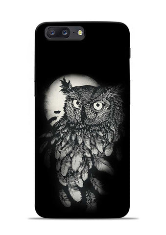 Moon Owl OnePlus 5 Mobile Back Cover