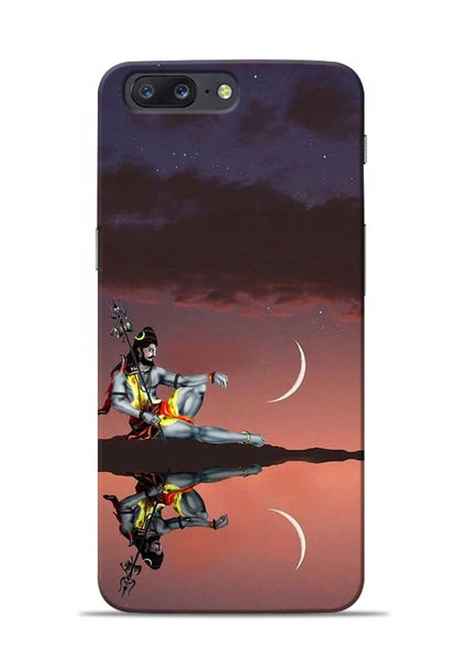 Lord Shiva OnePlus 5 Mobile Back Cover