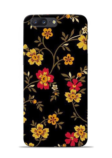 Rising Flower OnePlus 5 Mobile Back Cover