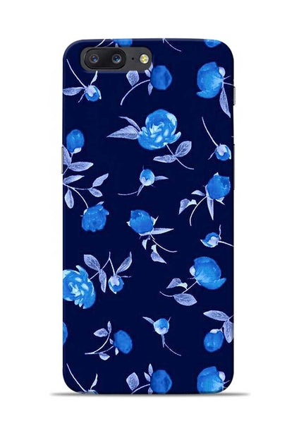The Blue Flower OnePlus 5 Mobile Back Cover
