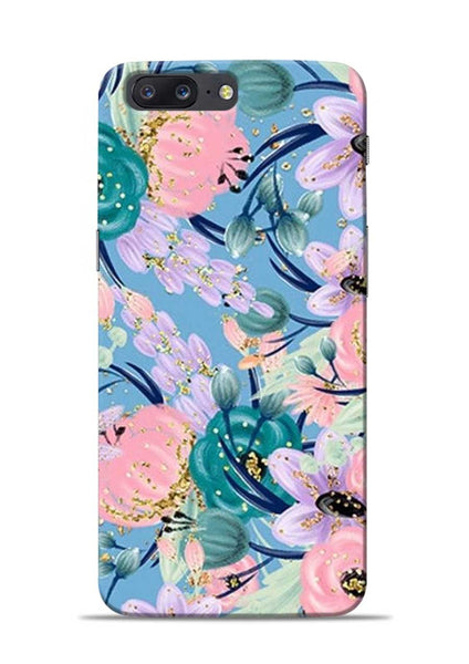 Lovely Flower OnePlus 5 Mobile Back Cover