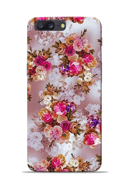 Rose For Love OnePlus 5 Mobile Back Cover