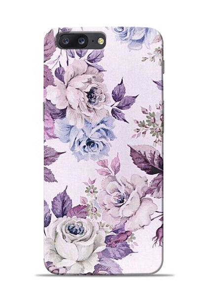 Flowers Forever OnePlus 5 Mobile Back Cover