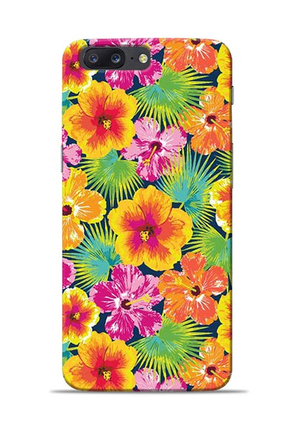Garden Of Flowers OnePlus 5 Mobile Back Cover