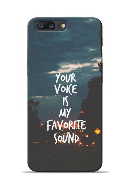 Your Voice OnePlus 5 Mobile Back Cover