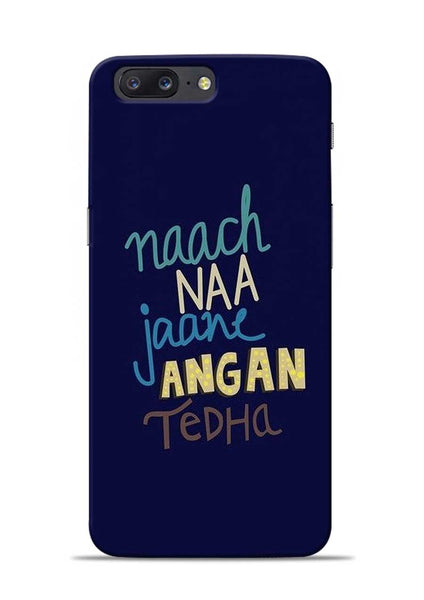 Angan Tedha OnePlus 5 Mobile Back Cover