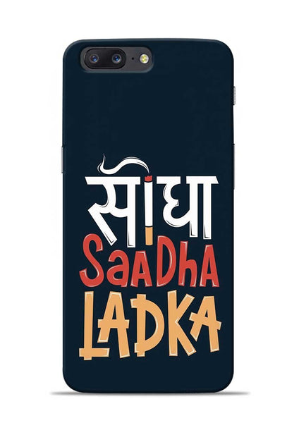 Saadha Ladka OnePlus 5 Mobile Back Cover