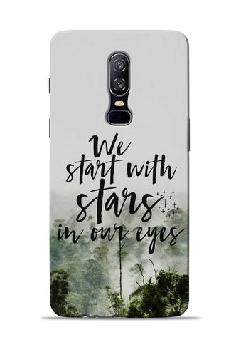 Stars In Eye OnePlus 6 Mobile Back Cover