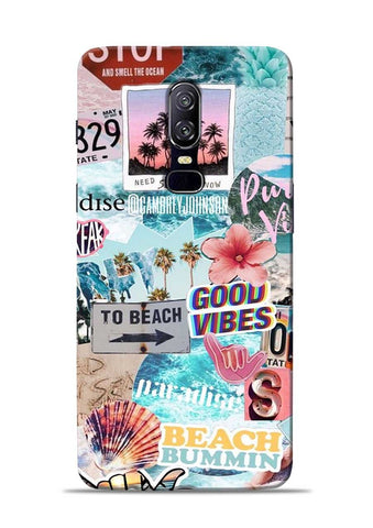 To Beach OnePlus 6 Mobile Back Cover