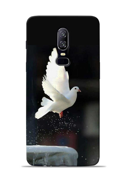 The White Bird OnePlus 6 Mobile Back Cover
