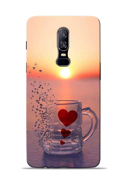 The Hearts OnePlus 6 Mobile Back Cover