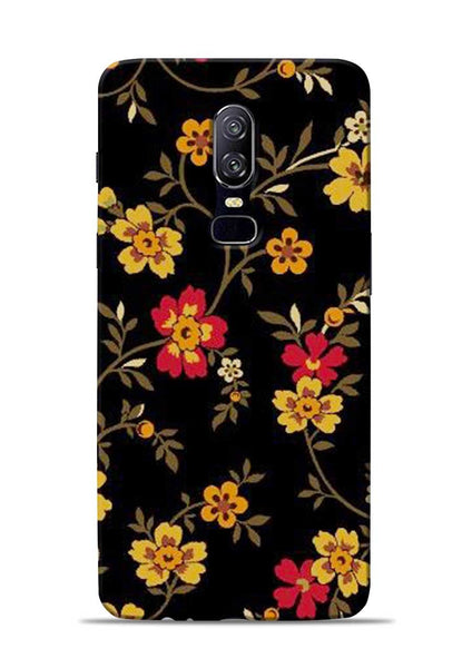 Rising Flower OnePlus 6 Mobile Back Cover