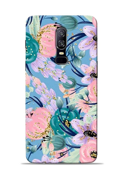 Lovely Flower OnePlus 6 Mobile Back Cover