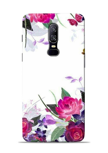 The Great White Flower OnePlus 6 Mobile Back Cover