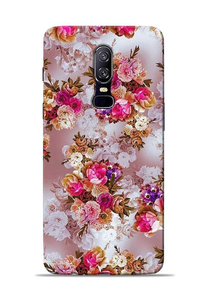Rose For Love OnePlus 6 Mobile Back Cover