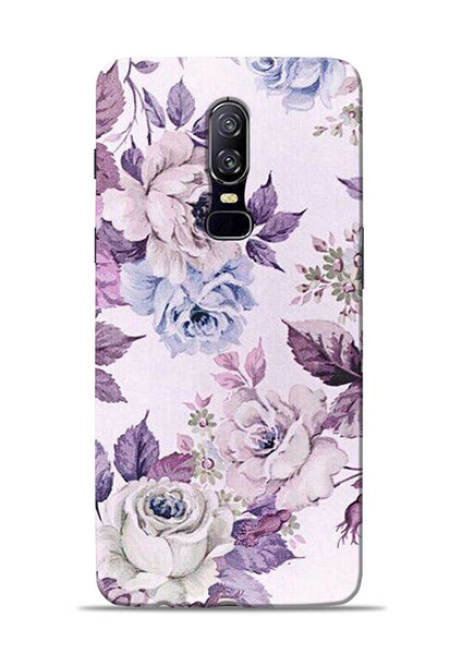 Flowers Forever OnePlus 6 Mobile Back Cover