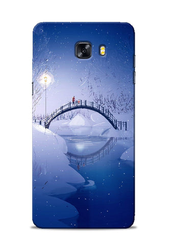 Night Bridge Samsung Galaxy C9 Pro Mobile Back Cover