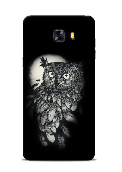Moon Owl Samsung Galaxy C9 Pro Mobile Back Cover