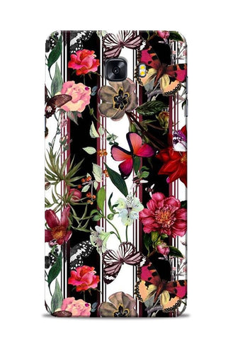 Butterfly Flower Samsung Galaxy C9 Pro Mobile Back Cover