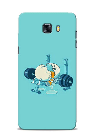 Gym And Diet Samsung Galaxy C9 Pro Mobile Back Cover