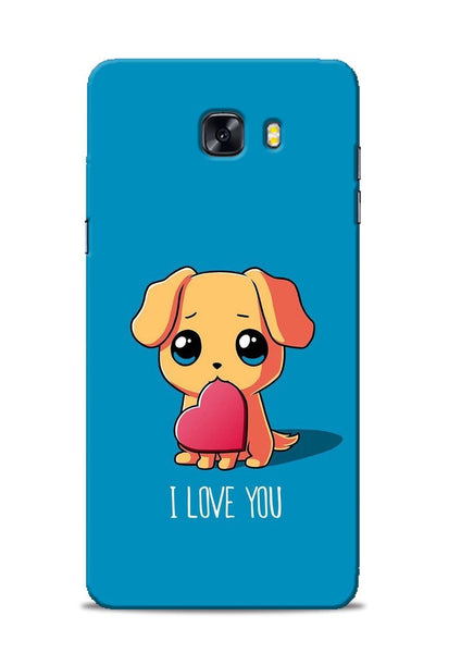 The Love Samsung Galaxy C9 Pro Mobile Back Cover