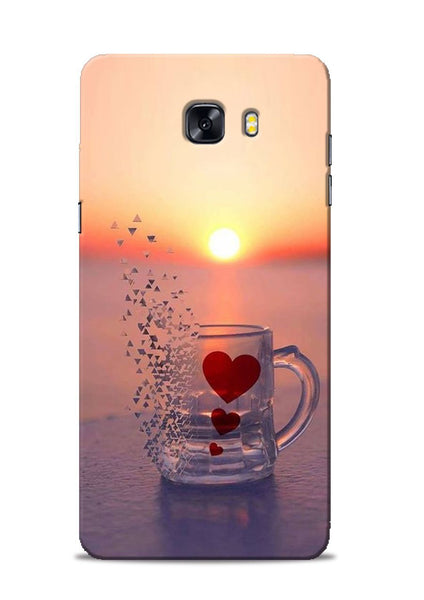 The Hearts Samsung Galaxy C9 Pro Mobile Back Cover