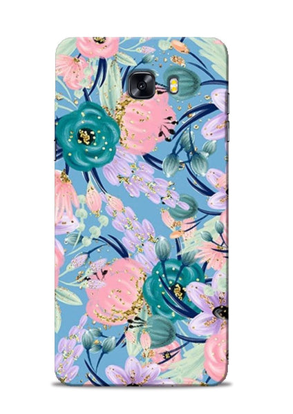 Lovely Flower Samsung Galaxy C9 Pro Mobile Back Cover