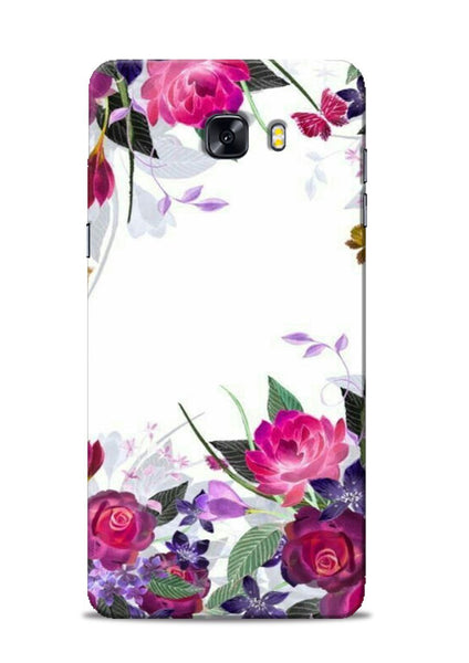 The Great White Flower Samsung Galaxy C9 Pro Mobile Back Cover