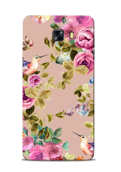 Red Rose Samsung Galaxy C9 Pro Mobile Back Cover